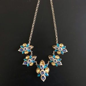 Blue and Teal Formal Necklace